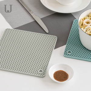 Image 3 - Youpin Jordan&Judy Beahive Double Sided Dining Mat Kitchen Anti iron Placemat Bowl Cup Mat Non slip Soft Mat