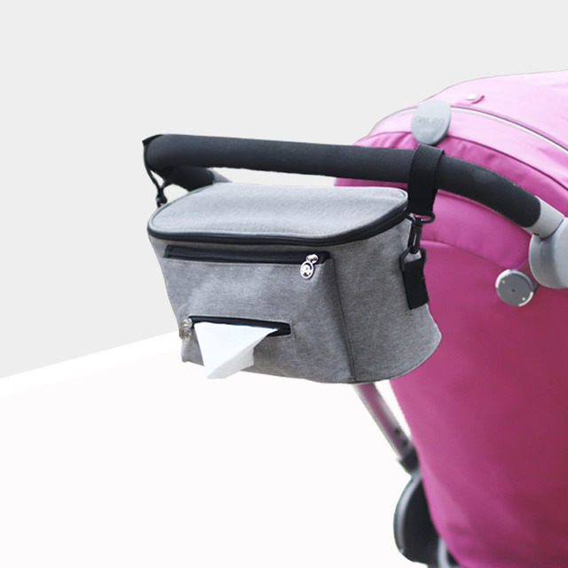 New Waterproof insulation Large Capacity Baby Stroller Accessories Mummy Maternity Diaper Bag Nursing Bag Stroller Organizer ba