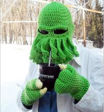 Tentacle Octopus Cthulhu Knit Beanie Hat Cap Wind Ski Mask 2016 Beanies Caps