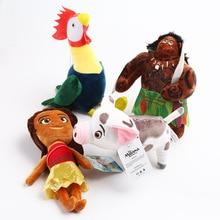 4pcs lot 20cm Moana Pet Pig Pua Maui Heihei Stuffed Animals Cute Pepa Cartoon Plush Toy