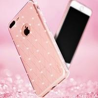 SULADA For Apple 7 Plus Rhinestone Mobile Case Soft TPU Back Cover For Apple IPhone IPhone7Plus