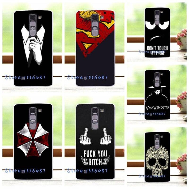 Dark For Men's Style Hard Plastic Case Cover For LG Magna G4 Mini C90 H520N H502F H500F Cover For LG Magna H502F LG G4C+Free Pen