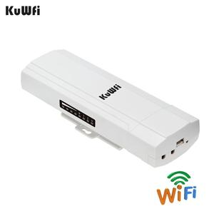 Image 1 - KuWFi Outdoor CPE Router Wifi Repetidor Wifi Extender 2 Pics Transmission Distance Up To 3KM Speed Up To 300Mbps Wireless CPE