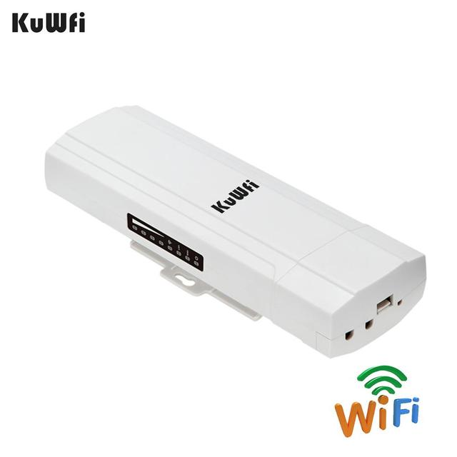 KuWFi Outdoor CPE Router Wifi Repetidor Wifi Extender 2 Pics Transmission Distance Up To 3KM Speed Up To 300Mbps Wireless CPE