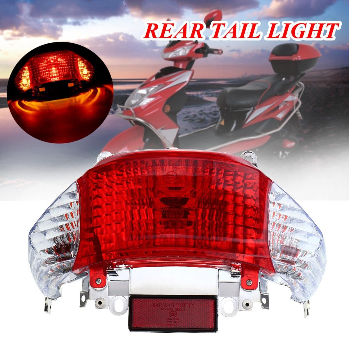 Moto Scooter 50cc Luz de cola trasera lámpara para Gy6 para chino Taotao soleado