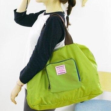 Foldable Travel Tote Märke resväska bär på väska Fritid Kvinna - Väskor för bagage och resor - Foto 2