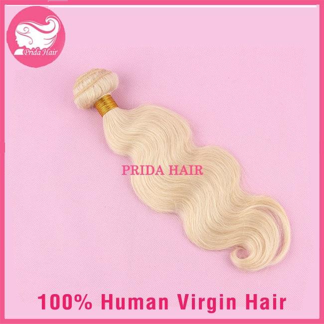 Wholesale Blonde Brazilian Hair Body Wave Unprocessed Human Virgin Blonde Brazilian Hair Bundles 1pc 613 Brazilian Virgin Hair
