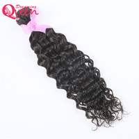 Brazilian Water Wave Human Hair Extensions Remy Hair Weave Bundles Natural Black 1 Piece/Lot Dreaming Queen Hair Products