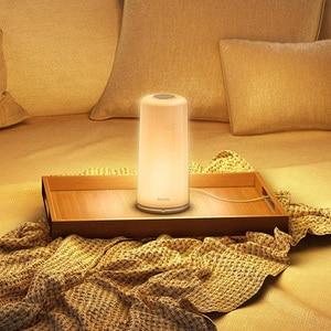 Image 5 - Xiaomi PHILIPS Zhirui lámpara de luz LED inteligente Dim mi ng luz de noche luz de lectura lámpara de noche WiFi Bluetooth mi Home APP Control