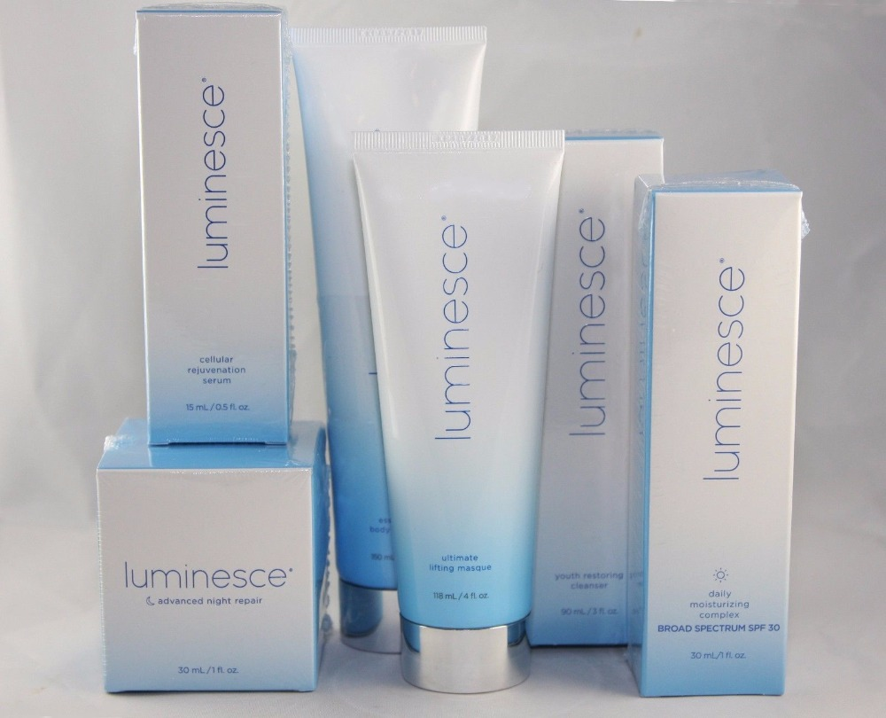 JEUNESSE LUMINESCE KIT 6pcs Serum Day Night Masque Bod Cleanser