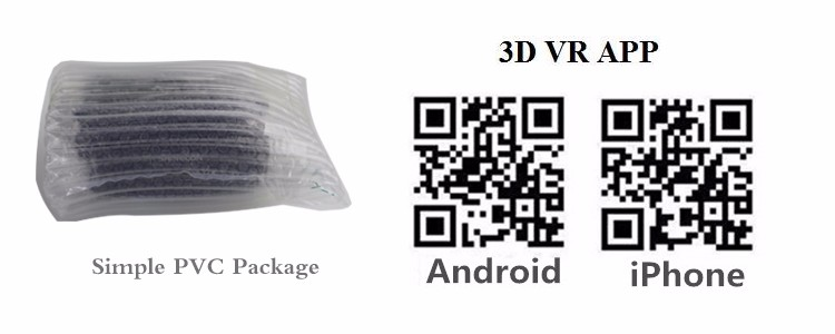 Newest VR Shinecon 4.0 Google cardboard VR BOX with Headphone VR Virtual Reality 3D Glasses PK Z4 For 4.5-6.0 inch Smartphone (19)
