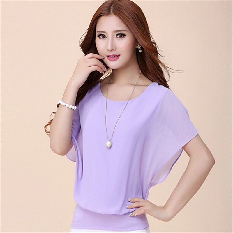 Blusas de las mujeres Camisas  de Verano blusa Casual Mujeres Tops Moda  de La G
