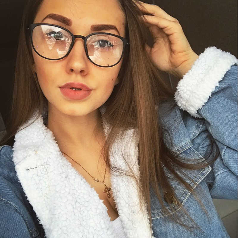 8965a473213 Detail Feedback Questions about TR90 spectacle frame cat eye Glasses frame  clear lens Women brand Eyewear optical frames myopia nerd black red  eyeglasses ...