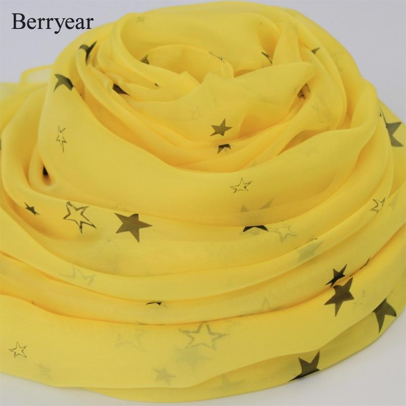 Bufanda de seda Berryear 2018 Bufanda de mujer de moda de verano - Accesorios para la ropa