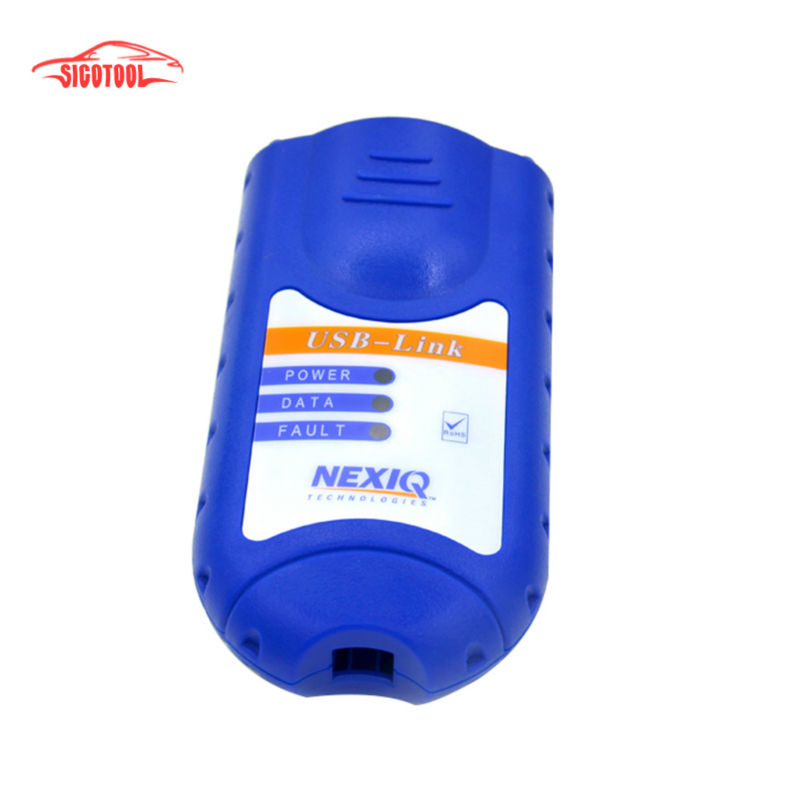 best price Auto scan tool NEXIQ 125032 USB Link+Software Diesel Truck Diagnose Interface Nexiq USB Link with All Installers