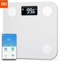 XIAOMI Yunmai Mini Smart Body Fat Scale Body Composition BMI Monitor 10 Body Data bluetooth Multi User App with Fitness Scheme