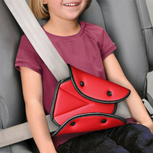 Newest Baby Kids Car Seat Belt Triangle Safety Holder Protect Child Seat Cover Adjuster Useful Protection For Children(China)