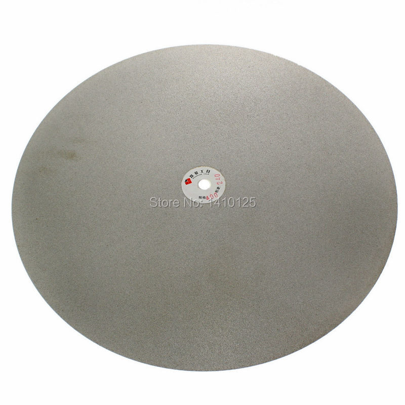 24 inch 600mm Grit 240 Medium Electroplated Diamond coated Flat Lap Disk Grinding Polishing Wheel Jewelry