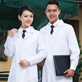 New design white men women hospital medical robe fashion nursing medical gowns new medical suit AA195