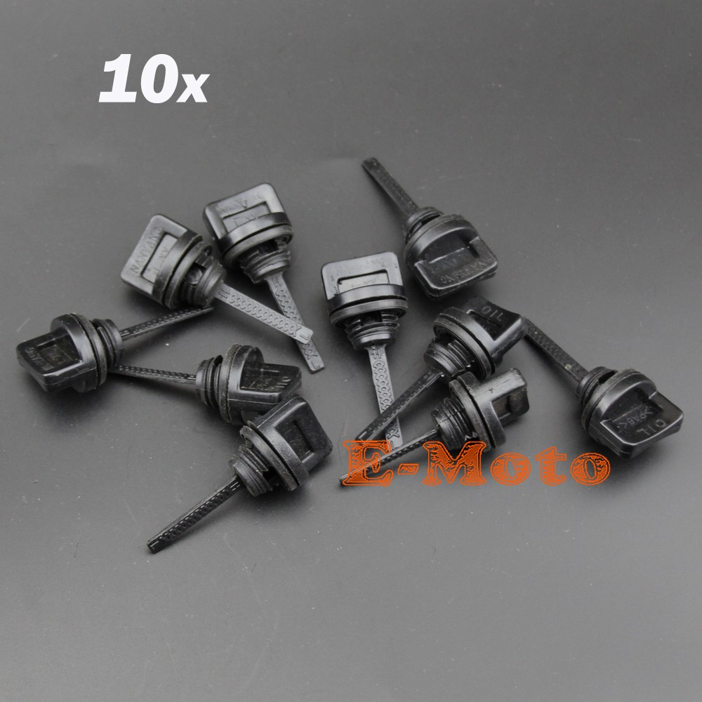 10pcs Oil Dipstick For Honda Gx240 Gx270 Gx340 Gx390 8 9hp 11 13hp Wiring Engine This New High Quality Aftermarket Replacement