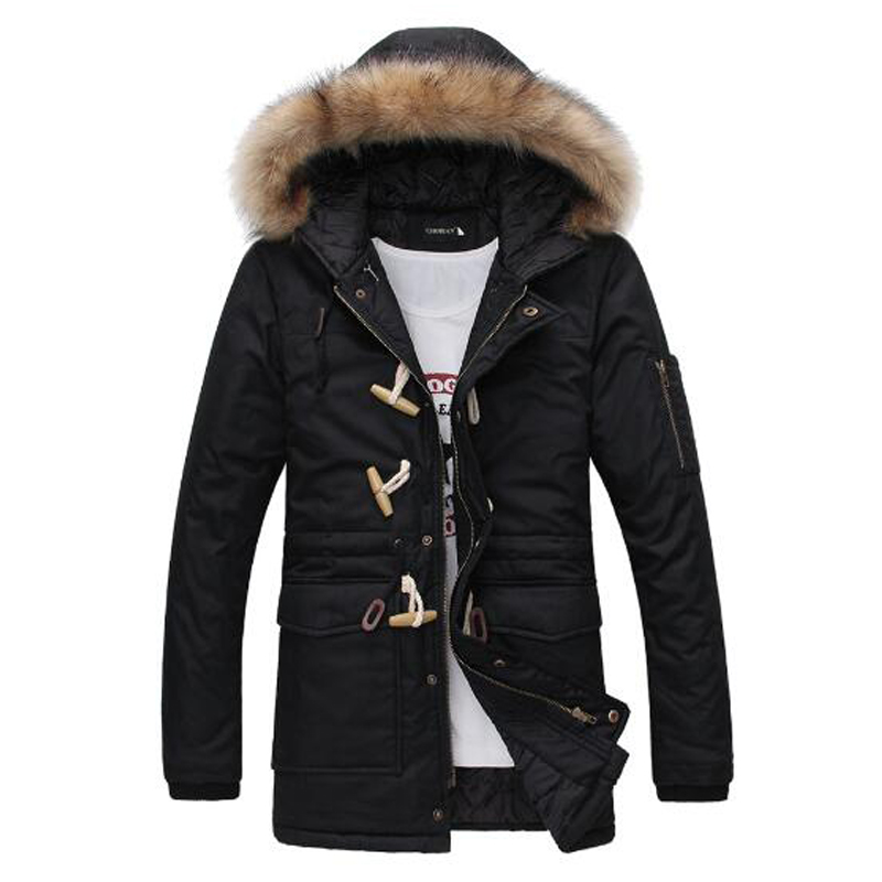 2016 New Sale Winter Down Cotton Jacket Men Fashion Nagymaros Collar Coats Overcoat Men'S Thick Warm Winter Down Parka