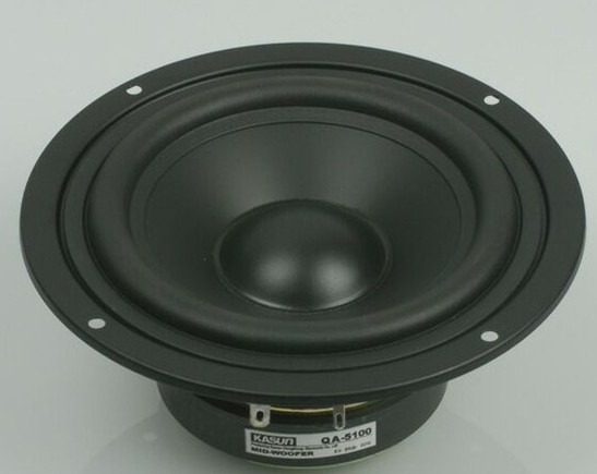 1pcs HI-FI midrange loudSpeaker woofer QA-5100 5 inch mid-bass mid bass speaker 90W 8 ohm for amplifier WOOFER speaker 1pcs hi fi series loudspeaker soft dome tweeter speaker acc 1366 3 inch 40w 6 ohm for amplifier tweeter loudspeaker