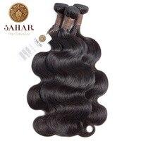SAHAR Brazilian Body Wave Hair Bundles Human Hair 100% Remy Hair Weave Bundles 1/3/4 PCS Natural Black 12 28 Inch Free Shipping