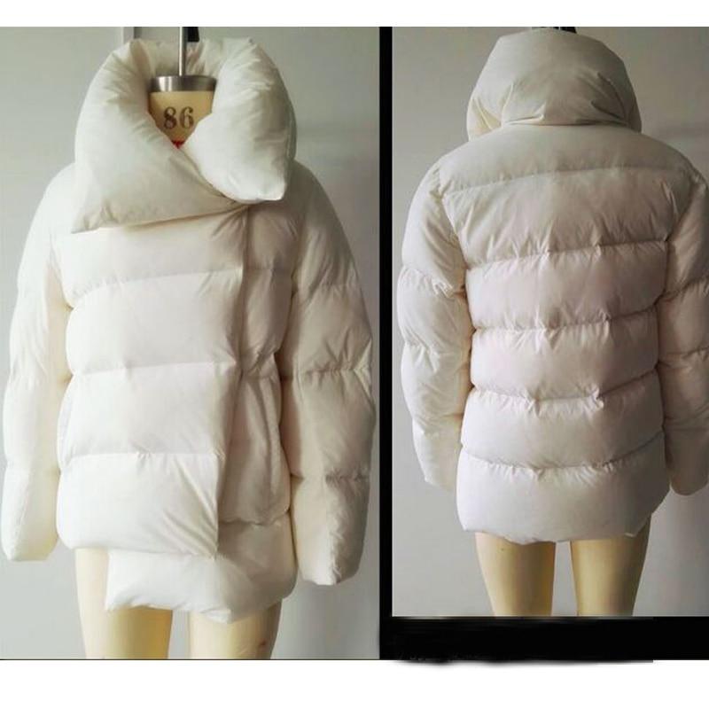 De Manteau Haute Duvet Blanc Rose Canard Court Qualité Chaud 2018 Nouvelle Femme D'hiver Parka Le blanc Vers Bas Veste Femmes Épaissir r7Pnwqrx6