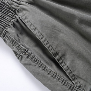 Image 4 - Men Harem tactical Pants 2020 Sagging cotton pants men Trousers plus size sporting Pant Mens Joggers Casual pants 6XL