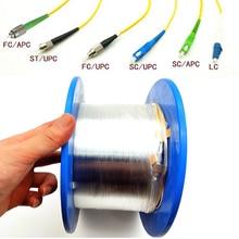 OTDR Lanzamiento Кабельное волокно оптический OTDR старт кабель одномодовый 1 км LC/FC/SC/ST ПК/UPC дополнительно