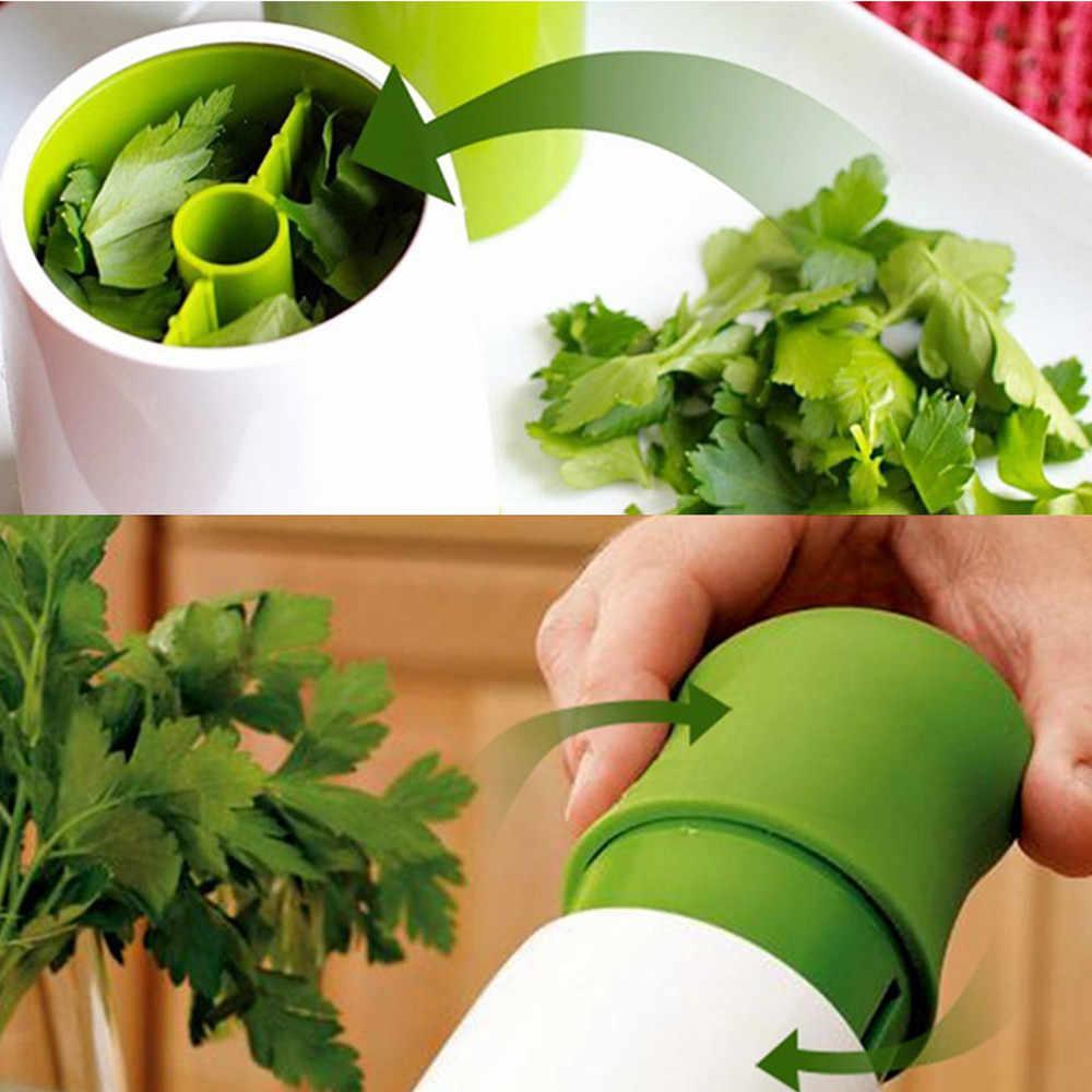 Eco friendly Herb Grinder Spice Mill Parsley Shredder Chopper Vegetable Cutter