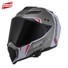 ביי אופנוע מלא פנים Capacete Moto קסדת Motocicleta מוטוקרוס מרוצי רכיבה אופנוע קסדות אופנוע