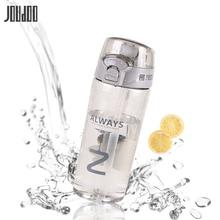 JOUDOO Solid Sport Plastic Water Bottle Creative Tritan Of Portable Tea Outdoor Drinkware Cup With Straw 35