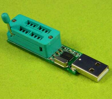 Free Shipping!! 5pcs USB port 24CXX 24C Programmer / EEPROM reader to 24C1024 /Electronic Component