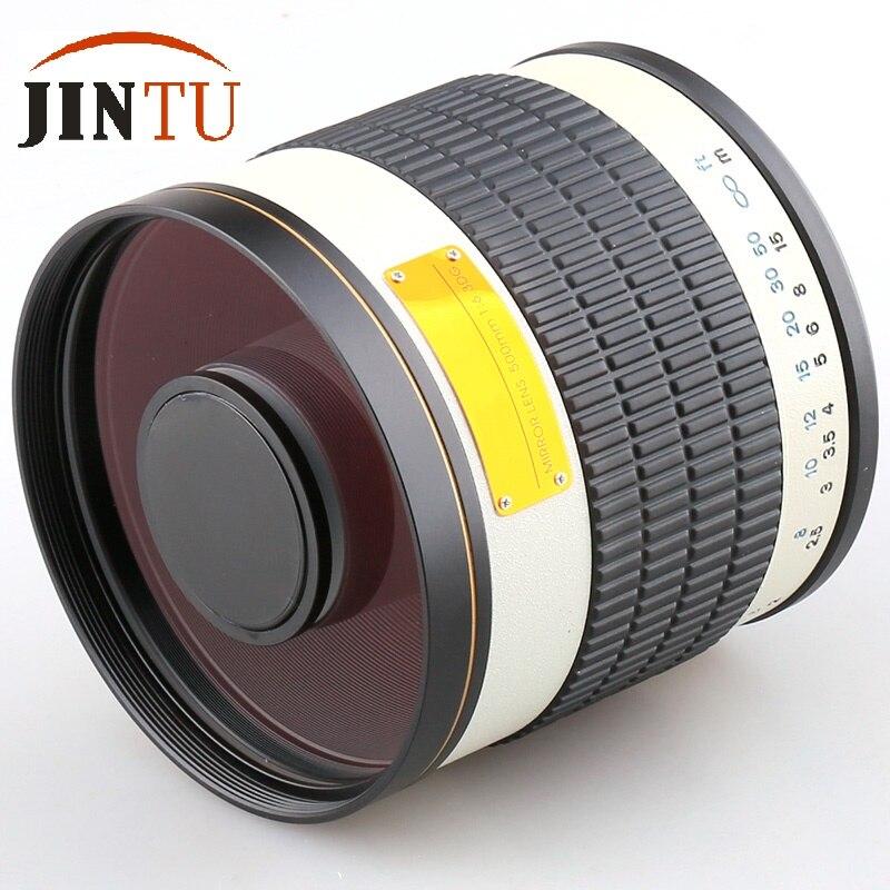 Зеркальный объектив JINTU 500 мм f/6,3 для Canon 5D MARK III II 5DIV 1D 1DS 60D 1000D 760D 750D 700D 650D 550D 70D