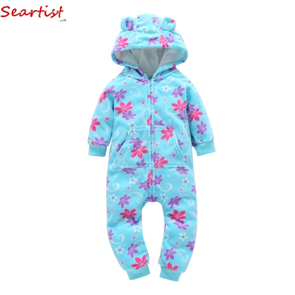Seartist <font><b>Baby</b></font> Boys <font><b>Girls</b></font> <font><b>Christmas</b></font> Winter <font><b>Romper</b></font> Newborn Bebes <font><b>Fleece</b></font> Hooded Jumpsuit <font><b>Baby</b></font> <font><b>Girl</b></font> <font><b>Clothes</b></font> <font><b>Baby</b></font> Boy <font><b>Clothes</b></font> 28 image