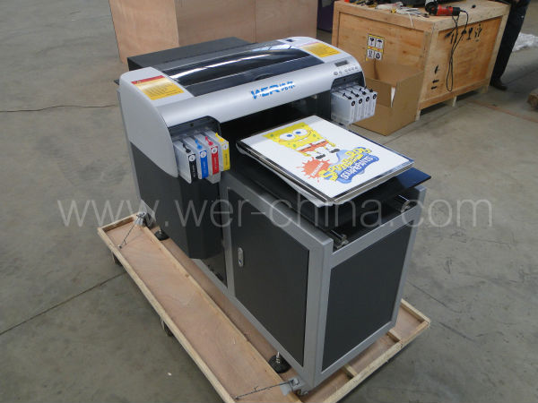 textile printer price A2 size for direct to dark and light