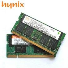 Computador portátil ram 200pin sodimm 333 mhz pc-2700 s do computador portátil da memória do chipset de hynix ddr 1gb ddr1 1gb pc-2700s mhz 333 2700