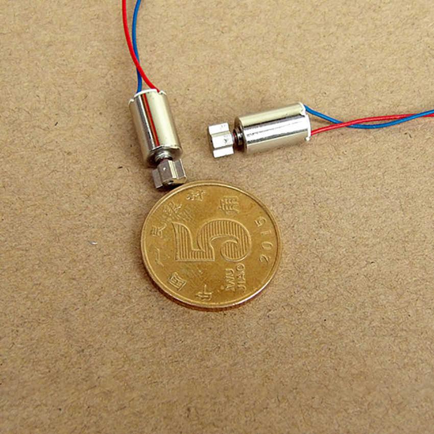 Double-Cincin 610 Hollow Piala Getaran Motor DC3V-5V Micro Vibration Motor Dia 6 Mm Pijat Kecantikan Motor Miniatur DC motor Panas