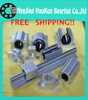 Free Shipping 2pcs Lot SBR10 200mm 10mm Linear Rail Cnc Parts SBR10 200mm Linear Guide