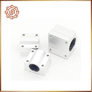 Image 2 - Sc16uu 4pcs SC16UU SCS16UU Linear motion ball bearings cnc parts slide block bushing for 16mm linear shaft guide rail CNC parts
