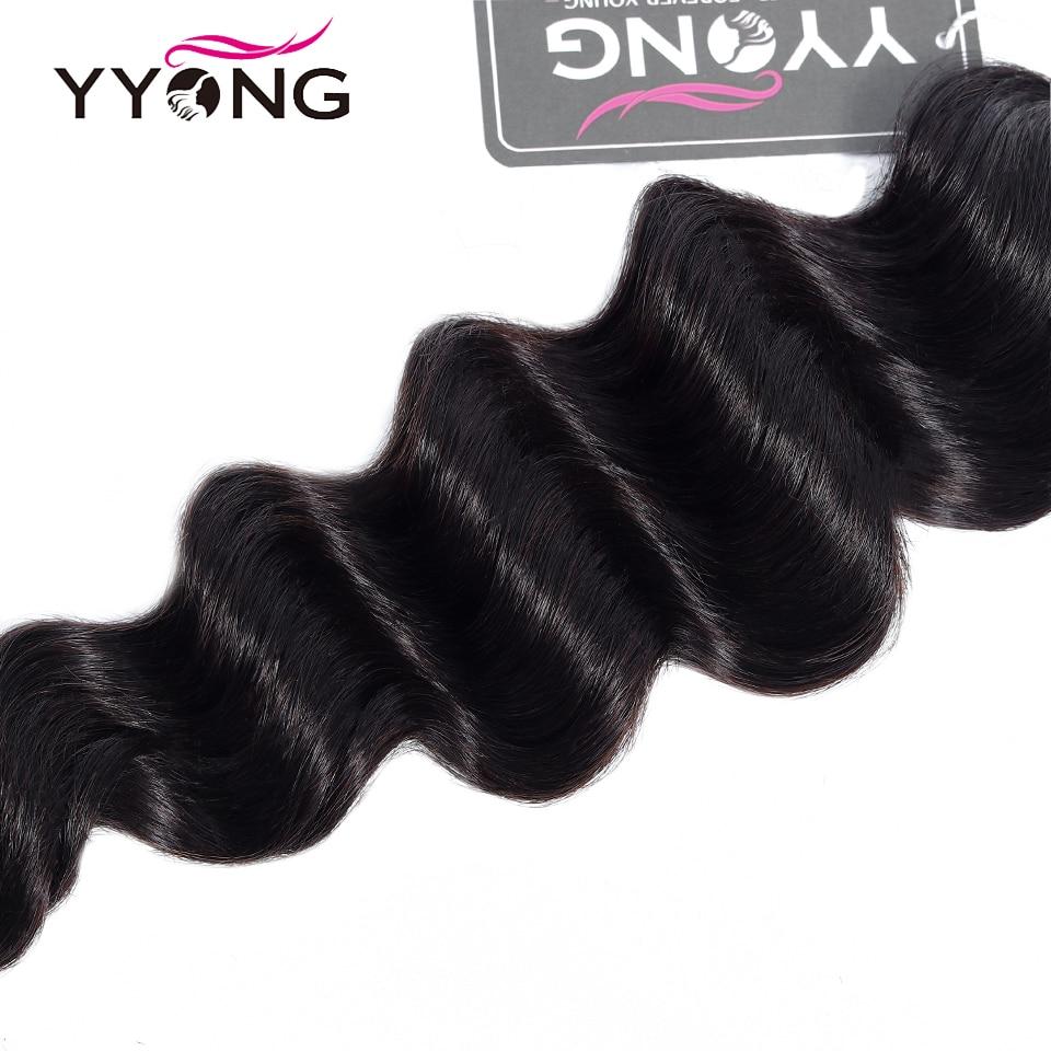 Yyong Loose Deep Wave Bundles  Bundles  s Natural Color Hair 3 Pcs/Lot  Bundles 5