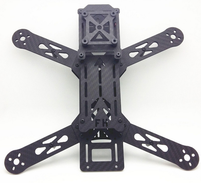 LH280 quadcopter carbon fiber frame QAV280 /nighthawk 250 pro Optimized version for DIY FPV mini drone diy mini drone fpv race nighthawk 250 qav280 quadcopter pure carbon frame kit naze32 10dof emax mt2206ii kv1900 run with 4s