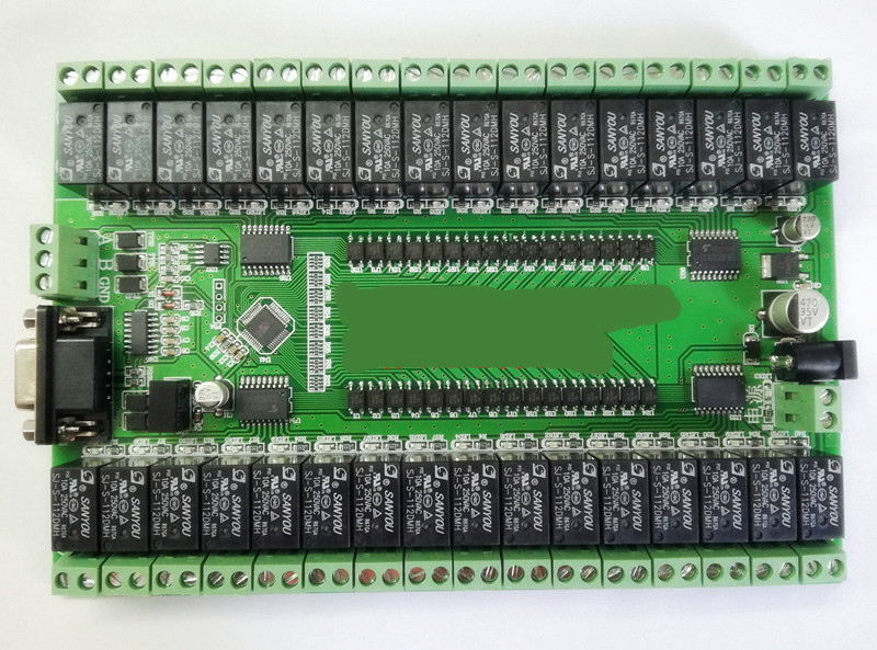 RS232/RS485 Serial Port Control <font><b>32</b></font>-way <font><b>Relay</b></font> <font><b>Module</b></font> Control Switchboard IO Board image
