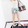 New Fashion Summer Skirt  Women 2016 Camouflage Package Hip High Waist Skirt Bust Sexy Fashion Skirt Short Girl Top