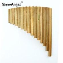 15 Rohre Professionelle Bambus Pan Flöte Handgemachte Panflute Panflöte Flauta Xiao Bläser Musikinstrument Panflute Xiao