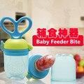 1 UNID Push Tpye Bebé Mordedor Pezón Fruta Mordedor Mordedura Bebé Chupete Pezón Mordedor Bocado Comida de Alimentación De Seguridad Oral cuidado