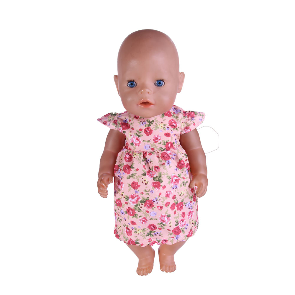 New Style Handmade Popular Dresses Fit 43cm New Baby Born