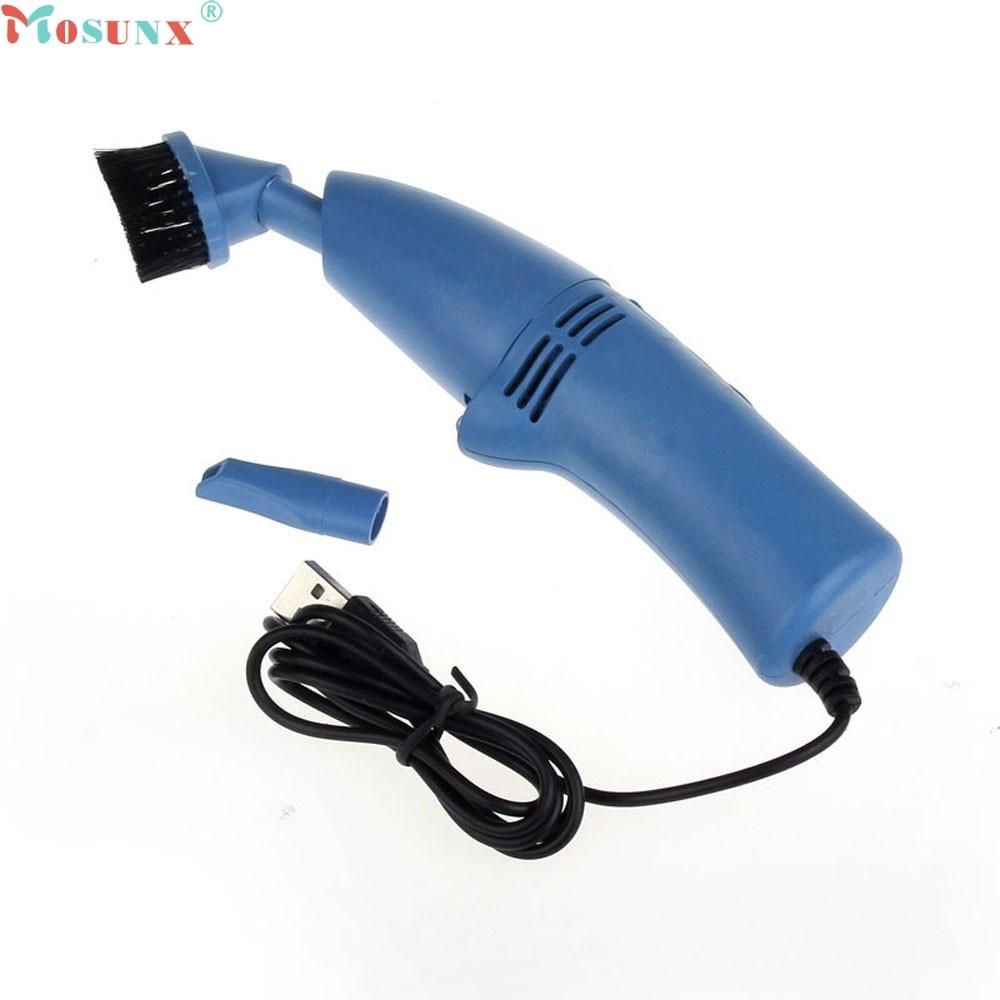 Новый USB пылесос пылесборник светодиодный свет для портативных ПК Клавиатура 0306 ...