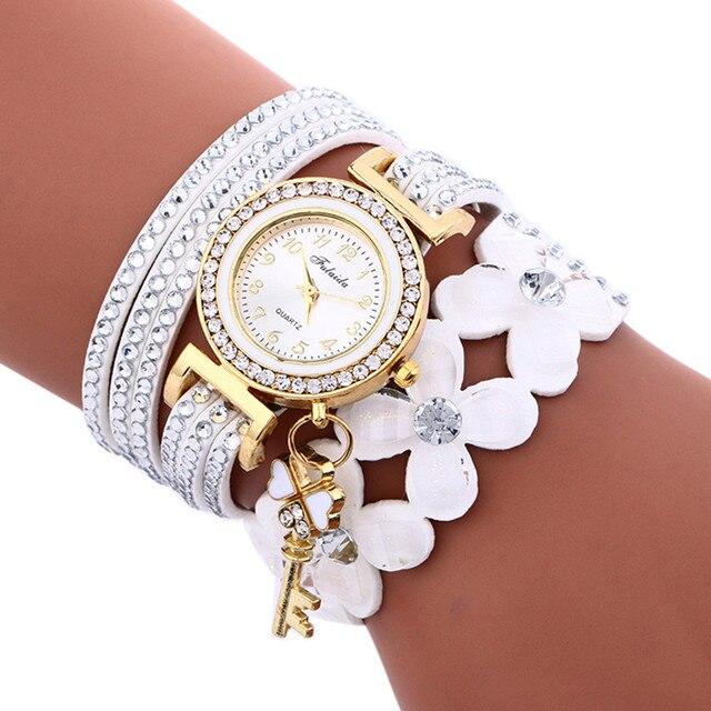 2018 las mujeres relojes de lujo nuevo Casual analógico de cuarzo de  aleación de reloj de 777e0271bbc7